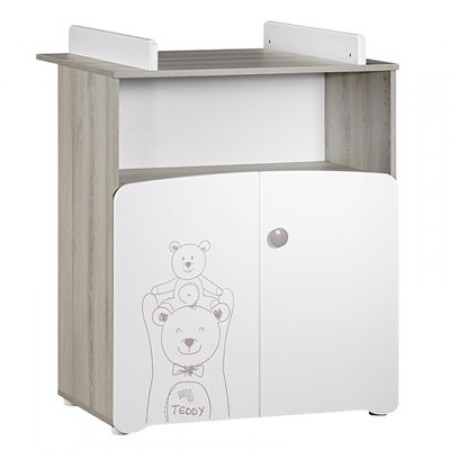 Commode à langer Baby Price 2 portes Teddy