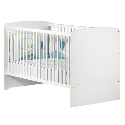 Lit bébé évolutif (140 x 70) Baby Price Little big bed new Basic